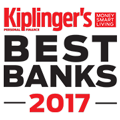 Kiplinger's Best Banks 2017