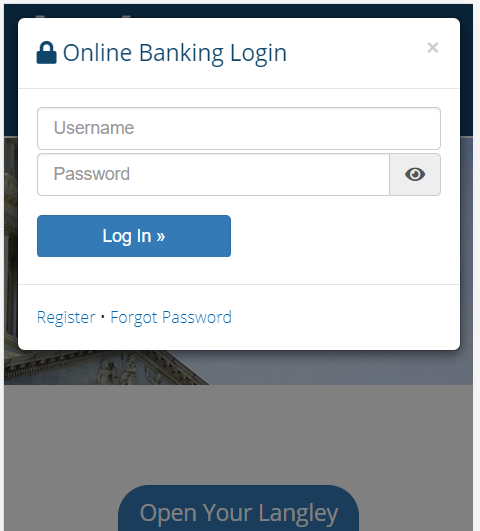 Mobile/Tablet Browser With Password Field