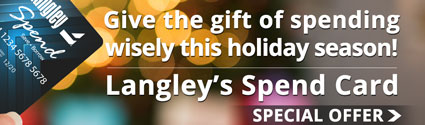 Special Spend Card Holiday Promotion - Click Here